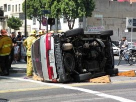 CA - LA Car Crash