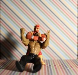 Hulk Hogan - Rock Headlock